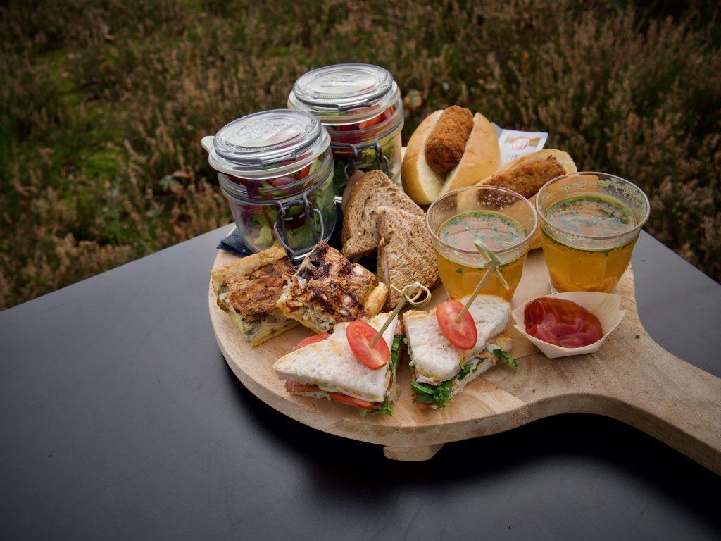 Brasserie Zonnestraal menukaart Sharing Lunch