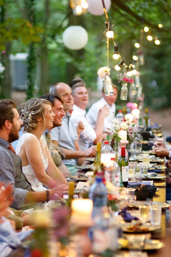 Brasserie Zonnestraal trouwen dineren in het bos