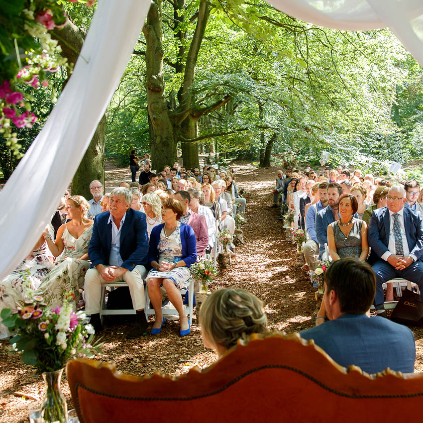 Brasserie Zonnestraal bruidstaart trouwen op zonnestraal1